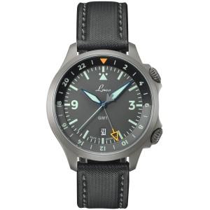 Pánske hodinky_LACO FRANKFURT GMT Grau_Dom hodín MAX